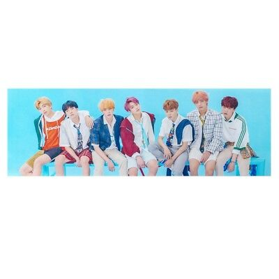 KPOP BTS Bangtan Boys Love Yourself Hang Up Poster Fans Gift Support Banner ARMY
