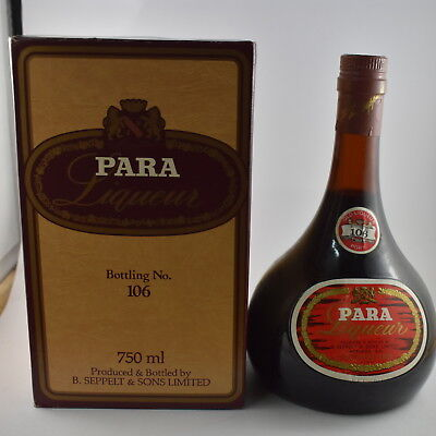 Seppelts Para Liqueur Port Number 106 Circa 1981 Boxed *Port*