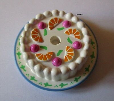 Round Tile 1x1 Pastry Pattern NEUF NEW 1 x LEGO 39557 Gâteau Cake Pâtisserie