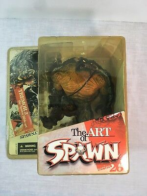 2004 McFarlane Toys The Art of Spawn Tremor 3 the Spawn Bible Art Figurine New