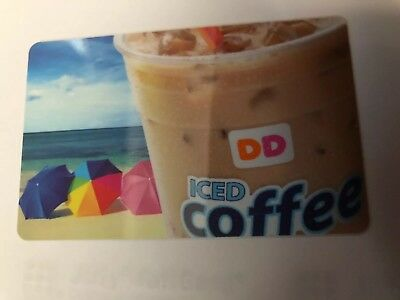 Dunkin Donuts Gift Card  ( Ice Coffee )  No $ Value