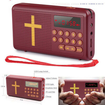 4G Rechargeable Audio Player Electronic Bible Talking King James Version English