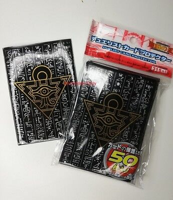 Yu-Gi-Oh! Sleeve Protège-cartes BLACK, made in japan / OFFRE SPECIALE