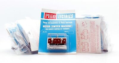 Peco Lectrics Pl-10 Motor (Switch Machine) For Remote Control Of Turnouts (1D)