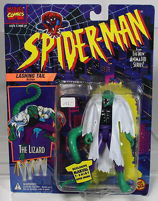Marvel Lizard aus Spider-Man von TOY BIZ 1994 MOC