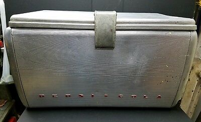 Vintage Original Aluminum Pepsi Cola Airstream Cooler 1950's Estate Find Detroit