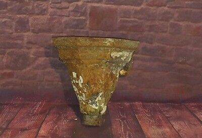 Antique Vintage Cast Iron Plant Hopper Garden Display Planter Pot Victorian
