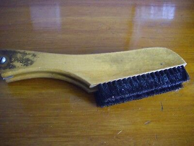 vintage british made  hanger/ clothes brush