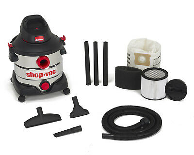 Shop-Vac 8 Gallon 6.0 Peak HP Stainless Steel 5989400 New!