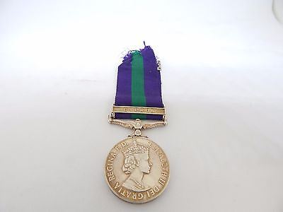 General Service Medal Clasp CYPRUS 1918-1962 R.A.F M.Day includes original box.