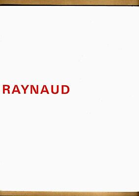 EO CATALOGUE EXPOSITION - RAYNAUD  -1968 - Amsterdam Stockholm Paris