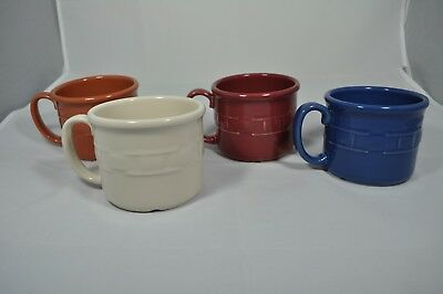 4 Longaberger Souper Mug 16 oz MADE IN USA