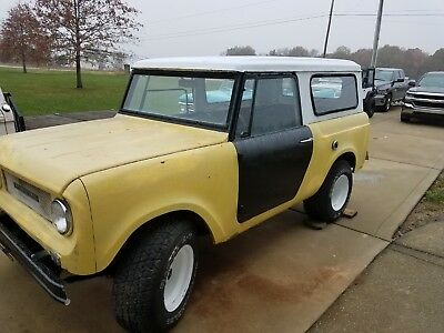 1967 International Harvester Scout  1967 International Scout 800