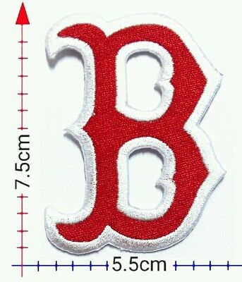 Boston Red Sox B  MLB Sport Patch Logo Patch Embroidery iron,Sewing on Clothes