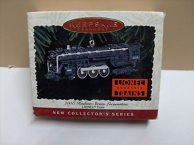 1996 Hallmark Ornament LIONEL 7008 Hudson Steam Locomotive !st in series
