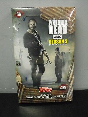 Topps The Walking Dead Season 5 Sealed Box