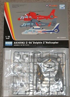 """Dream Model 720001, AS365N2 / Z-9A """"Dolphin 2"""" Helicopter, 1/72, OVP / MIB"""