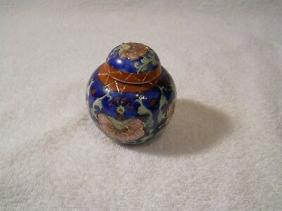 VINTAGE CHINESE MINIATURE  GINGER JAR  pre 1891  stamped on bottom
