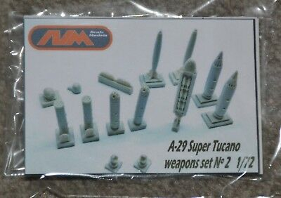AVM Scale Models, A-29 Super Tucano Weapons Set No. 2, 1/72, OVP / MIB