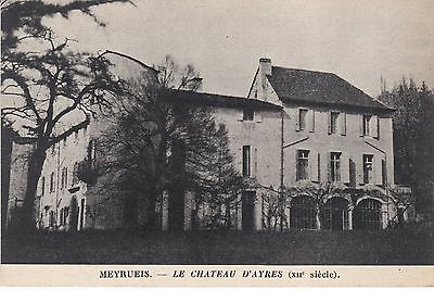 Cp26 Lozere  Meyrueis   Chateau D Ayres Xii Siecle