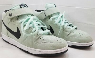 new arrival 6ed11 d420b 2009 Nike Dunk Mid Pro Sb Sea Crystal Diamond Ice Green Grey White  314383-301