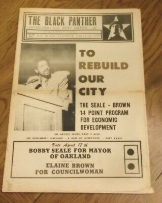 Rare Original March 17, 1973 Black Panther Party Newspaper-Vol 9 No.22  Nice!
