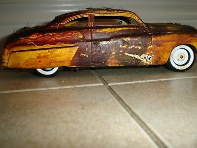8 Rusted Out Junkyard Models ,2 Vets,2 30's Ford,49 Merc,57 Chev,71 Gtx,camaro