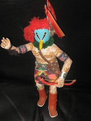 c1970 RARE TUNEI-NILI HOPI KACHINA NATIVE AMERICAN INDIAN KACHINA