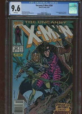 Uncanny X-Men 266 CGC 9.6 | Marvel 1990 | 1st Full Gambit. Mystique Appearance.