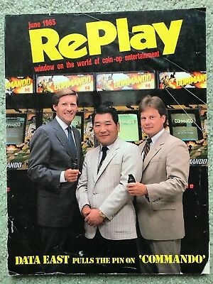 RePlay Magazine June 1985
