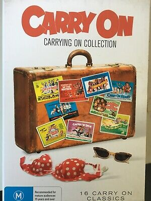 CARRY ON - The Carrying On Collection 16 x DVD Box Set Excellent Condition!