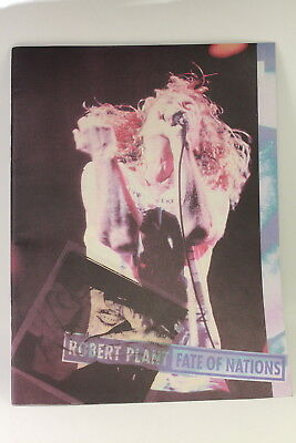 1993 Robert Plant Fate Of Nations Tour Program
