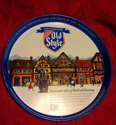 Vintage 1980's Old Style Beer Serving Tray  Ships FREE within the USA!