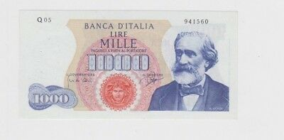 Italy Paper Money one old note  Uncirculated