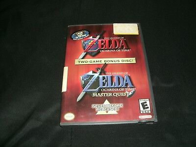 Legend Of Zelda: Ocarina Of Time Master Quest Nintendo Gamecube And BC Wii's