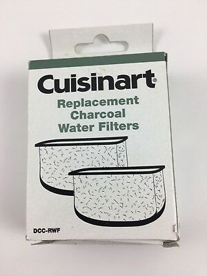 Cuisinart Retail Package Coffee Maker Charcoal Water Filter, 2 Pack, DCC-RWF