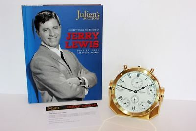 WEMPE Combo Marine Chronometer + Barometer + Tide + Temp from Jerry Lewis' Yacht