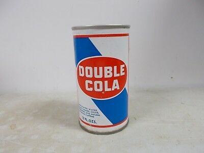 1970 Double Cola steel soda can.
