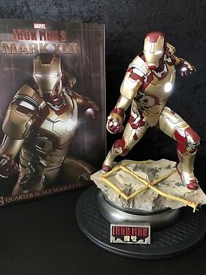 Sideshow Collectibles Iron Man Mark 42 Maquette Statue