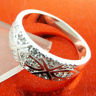 Ring Real 925 Sterling Silver S/f Solid Ladies Engraved Antique Design P Fs3A237
