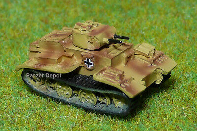 Panzer Depot New 1//144 WWII German SdKfz253 observation vehicle camouflage