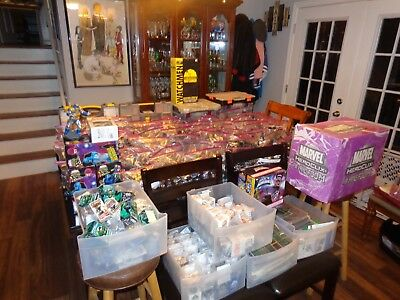 Heroclix Massive Lot! 7000+ pieces SR LE Chase Maps Objects DC Marvel Indy
