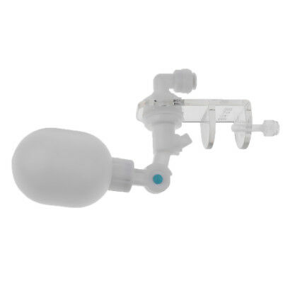 Small Ball Valve Automatic Fish Tank Water Filter Float Ball Valve White