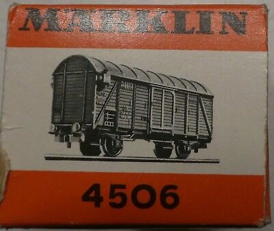 Marklin  4506 Closed Freight  Car  In Box