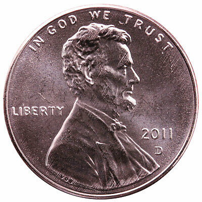 2011 D Lincoln Shield Cent Gem BU Penny US Coin