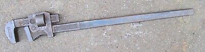 """RECORD 36"""" Pipe Wrench Stilsons Tool Quality Made In England No 36"""