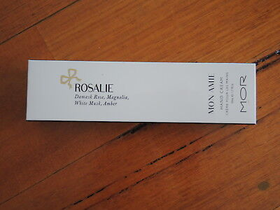 MOR Mon Amie Rosalie Hand cream 50ml BRAND NEW SEALED **FREE POST