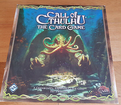 Call of Cthulhu LCG CCG card/board game core base complete set - VGC