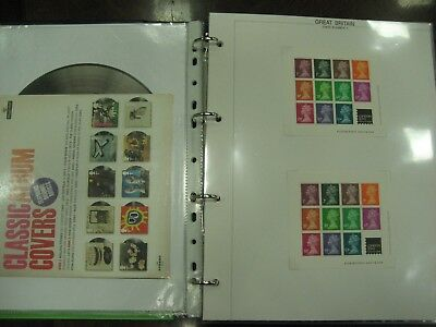 1978 -2011 Large Stock Of Gb Miniature Sheet Incl. Better Items 4 Albums £1617