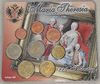 Offizieller KMS Österreich 2005, Maria Theresia, BU, in Blister